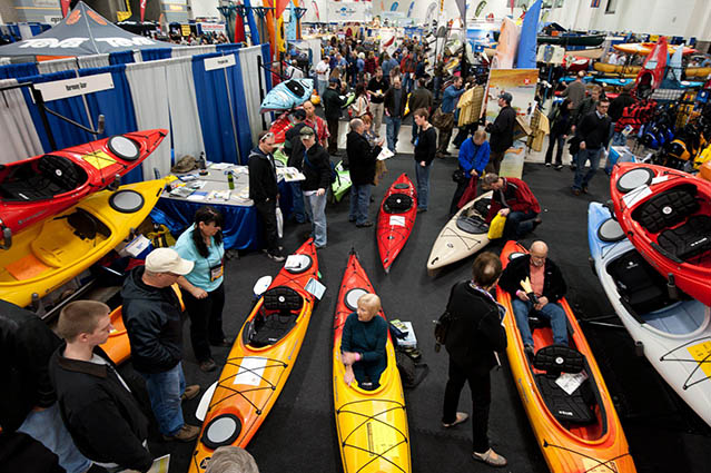 Outdoor Expo Stands : Canoecopia world s largest paddling expo
